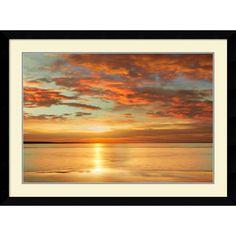 John Seba 'Sunlit' Framed Art Print 43 x 32-inch