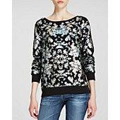 WILDFOX Sweatshirt - Bloomingdale's Exclusive Holo Foil Toile