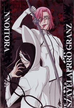 Nnoitra Gilga & Szayelaporro Granz -  Bleach,Anime