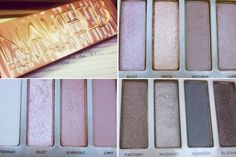 Maquillage avec palette Naked