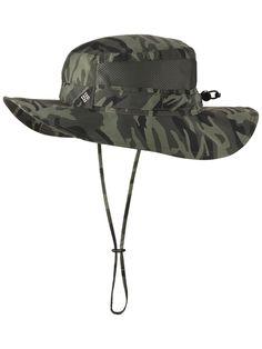 Columbia Men s Bora Bora Print Booney Hat - Gravel Camo - One Size 9284c1c268fd