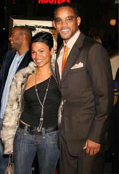 Will and Lisa Nia Long, Cute Celebrities, Celebs, Celebrity Couples, Celebrity Style, Female Suits, History Icon, Natural Hair Styles, Short Hair Styles