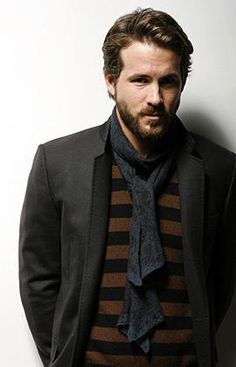 There is something delicious about a hot guy in a scarf.