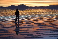 One of the biggest salt flats in the world, Bolivia