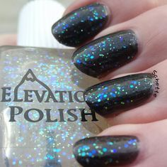 Elevation Polish - Trift: $6 From 2012. New, never worn.  This is a topper in a base which has started to turn a little off-white, but should still look good over pale polishes, though I would not use it over white.