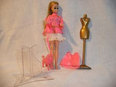Vintage Dawn Doll with Poodle