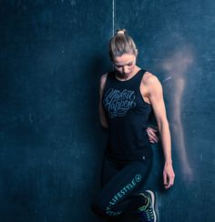 Make It Happen Tank by Nasty Lifestyle. Get yours today! Crossfit Clothes, Fitness Apparel, Tank Man, Women Wear, Spring Summer, Yoga, Gym, Running, Shit Happens