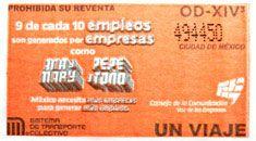 Para promover el empleo, el Sistema de Transporte Colectivo puso a la venta  una edición especial de boletos del Consejo de la Comunicación, a partir del 09 de diciembre.