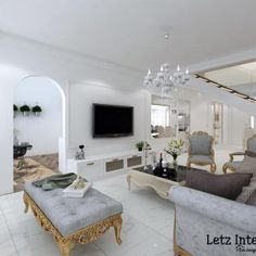 9 Stunning HDB Executive Maisonette Homes that Look Like Landed Property Interior Design Website, Site Design, Home Decor Kitchen, Condominium, Design Firms, Home Renovation, Homes, Furniture, Houses
