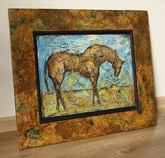 pucik / Koník Horses, Retro, Painting, Art, Art Background, Painting Art, Kunst, Paintings, Performing Arts