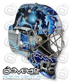 A coaching change isn't the only transformation going on with the Toronto Maple Leafs right now: Beleaguered goaltender James Reimer is also switching things up with a new mask that plays strongly off his nickname, Optimus Reim. Hockey Helmet, Hockey Goalie, Ice Hockey, Football Helmets, Adidas Bucket Hat, James Reimer, Goalie Mask, National Hockey League, Toronto Maple Leafs