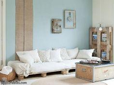 Pallets - 9 Sofás com paletes em decoração realmente elegante