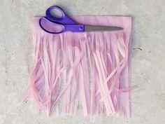 Make Your Own Tissue Paper Tassel Garland : Decorating : Home & Garden Television