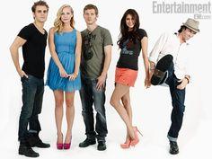 The Vampire Diaries  Look at those beautiful faces... @Alice Ryan