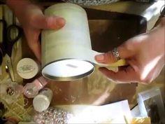 Mixed Media Altered Tin - jennings644 - YouTube