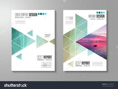 Brochure Template, Flyer Design Or Leaflet Cover For Business Presentation And Magazine Covers, Annual Reports And Marketing Generic Purposes. Ilustración vectorial en stock 431228737 : Shutterstock