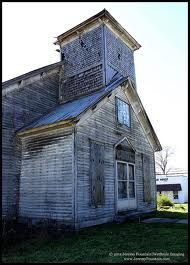 Abandoned Church - Adams TN -where the Bell Witch was known.