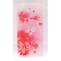 Vaaleanpunainen kukkakuvio iPhone 4 suojakuori. Iphone 4, Apple Iphone