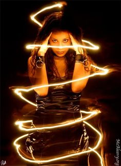 light painting photography 3