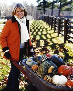 Martha Stewart -- I admire Martha not because she is rich and famous (infamous), but because she elevated homemaking to a beautiful art form and because she handled her personal travail with grace.