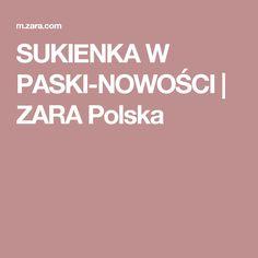 SUKIENKA W PASKI-NOWOŚCI | ZARA Polska