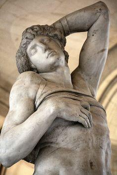 Slave Michelangelo. Paris, Louvre.