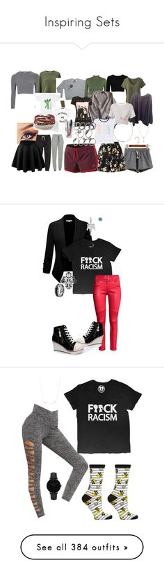 """""""Inspiring Sets"""" by boymeetsgirlusa ❤ liked on Polyvore featuring Glamorous, Miss Selfridge, Boy Meets Girl, WearAll, prAna, adidas, Icebreaker, H&M, Brandy Melville and Topshop"""