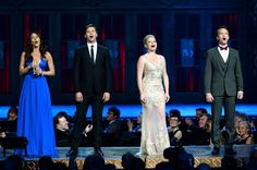 Laura Benanti, Andrew Rannells, Megan Hilty and Neil Patrick Harris perform onstage at The 67th Annual Tony Awards at Radio City Music Hall on June 9, 2013 in New York City.  One of my favorite  moments of the show