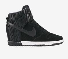 94967cae3787 Nike Dunk Sky Hi Print Style 543258 002 Coloris Black White Grey
