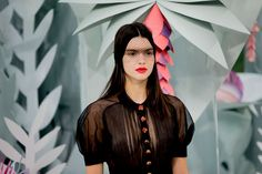 Kendall wearing Chanel Haute Couture - Photographed by Kevin Tachman via www.vogue.com