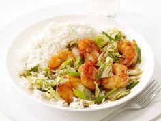 Shrimp and Cabbage Stir-Fry