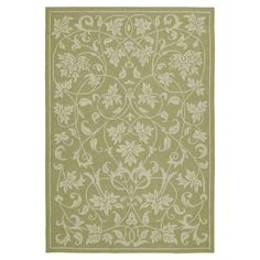 Found it at Wayfair - Home & Porch Presley Celery Rug