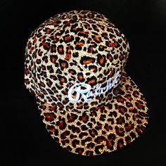 Pure leopard Snap Back.