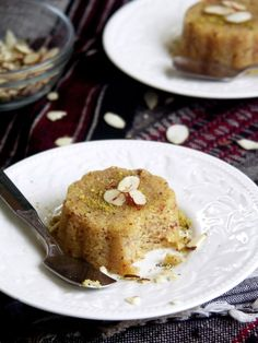 Semolina and Almond Halwa @FoodBlogs