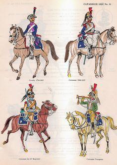 Cavalleria pesante e corazzieri francesi