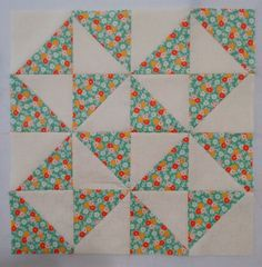 TBT - Broken Dishes - Quilt block tutorial by Penny Rose Fabrics for Traditional Block Thursday.