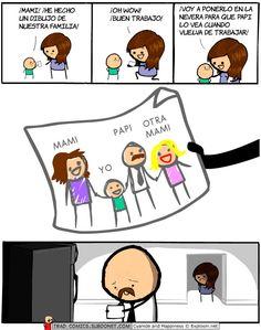 Un dibujo de nuestra familia #humor