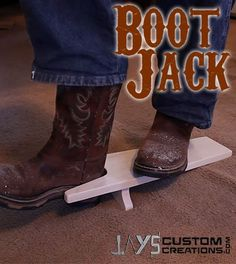 Make A Boot Jack – Jays Custom Creations