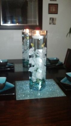 Diy Dining Table Centerpiece It Was So Easy Just Got The Simple Dining Room Center Pieces Design Inspiration