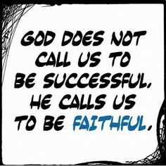 ...and while we are being #faithful, He will make us #successful. The true definition of #prosperity. You prosper as your soul prospers. Want better? Don't be bitter, be better. ♥
