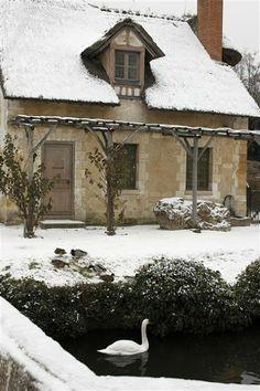 Marie Antoinette's Versailles in winter