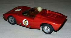 Vintage 1/32 Scale Slot Car, Dynamic Powered, 6 Inches Long.