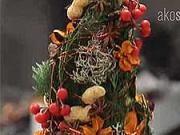 Netradiční vánoční stromek - jak vyrobit netradiční vánoční stromeček