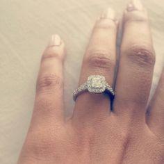 My beautiful engagement ring ♥