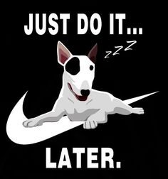 Just Do It!!  LATER...