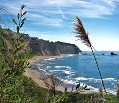 Beach at Greyhound Rock  by cgrantk, via Flickr