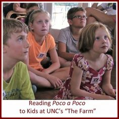 Farm Kids Reading...