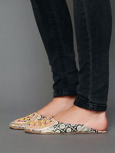 Free People Moroccan Beaded Slipper at Free People Clothing Boutique my precious.....
