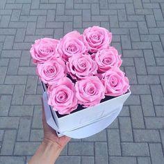 caja peuqeña rosas
