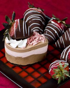 I've been craving chocolate covered strawberries for the last several months.